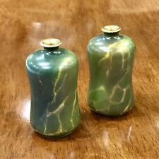 Pair Of 1920 Wilkinson Oriflamme Bud Vases Signed John Butler Mint