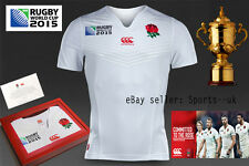 England RWC 2015 Home Ltd Edition S/S Players Rugby Test Shirt jersey un signed