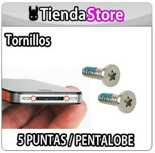 Tornillos compatible iPhone 4 / 4S PENTALOBE - 5 PUNTAS - PENTALOBULAR