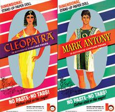 Vintage Reprint - 1963 - Cleopatra & Mark Anthony Paper Dolls Book
