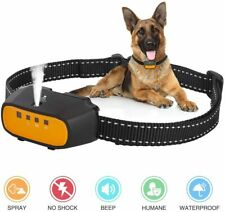 Citronella Spray Bark Collar, Automatic Training Bark Collar Rechargeable #7992