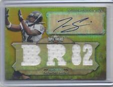 TORREY SMITH 2012 TOPPS TRIPLE THREADS BR 82 GOLD TRIPLE JERSEY #D 1/9