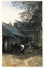 Postcard Nostalgia 1900's The Village Smithy Blacksmith Reproduction Card