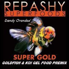 New listing Repashy Super Gold Goldfish Koi Meal Feed Gel Fish Food Supergold 12 oz 340 g