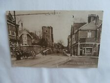 Newport, Monmouthshire - St.Woollo's Church - 1925? postcard