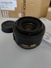 Nikon Nikkor AF-S 35mm f/1.8G DX lens