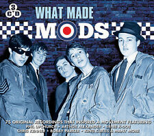 3 CD WHAT MADE MODS UPCHURCH BROWN PARKER KING CURTIS BOOKER T SHIRELLES ETC