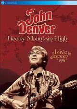 Rocky Mountain High Live in Japan 1981 DVD 2014 NTSC Region 2