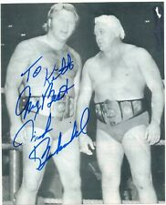 NICK BOCKWINKEL NWA AWA Signed Autograph Vintage B&W Photo GUARANTEED AUTHENTIC