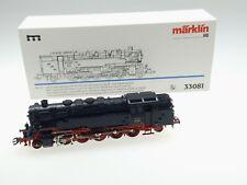 (87/268) Märklin H0 Tenderdampflok BR 85 001 DR (Art.-Nr.33081) AC/Digital