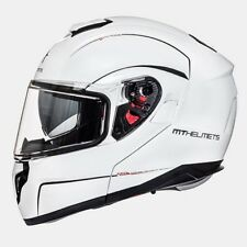 Casco, Helmet, Modular MT ATOM SV Blanco Perla T.S con pinlock gratis