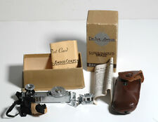 """Vintage Ranger Finder """"DeJur-Amsco Superimposed Image"""" w/Box/Case/Information"""