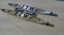 shifter rod,shifter linkage ,BRASS, FTW,  fits Harley 86-14 FLST, FLH, FXST, FXS