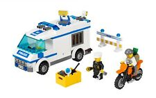 LEGO City 7286 Prisoner Transport 100% Complete w/ Manual & Minifigures