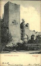 Viterbo Italien Italia Latium 1899 Torre della Bella Galliana Turm Festung Burg
