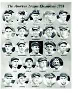 1924 WORLD SERIES CHAMPIONS WASHINGTON SENATORS 8X10 TEAM PHOTO BASEBALL HOF USA