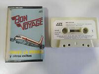 BON VOYAGE PONTE LA PELUCA CINTA CASSETTE SPANISH EDIT 1981 PAPER LABELS