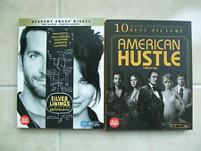 Silver Linings Playbook & American Hustle (Blu-ray) Slip Case Edition / OOP
