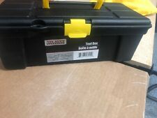 Portable Mini Toolbox Hand Held Carry Storage Lockable Small Tool Box 12x5x5""