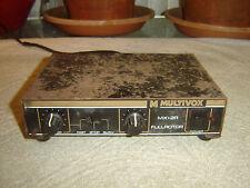 Multivox MX-2R, Fullrotor, Leslie Simulator, Vintage Unit