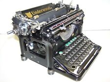 Antique 1934 Underwood Model 6 Vintage Typewriter #4266065-11
