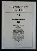 DOCUMENTI E STUDI. AA.VV. Cassa di Risparmio di Lucca.