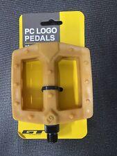 Gt Pc Logo Bmx Pedals Gum 9/16 (Bmx)