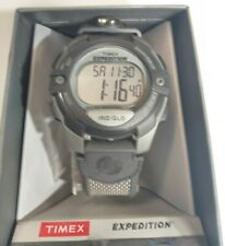 Timex Men's Expedition Digital CAT   Gray Case Black Resin Strap   Watch T40941