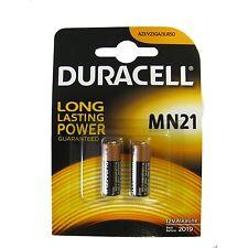 2 Pile Batterie Duracell MN21 12v Alkalina Micro Stilo Telecomando Cancello hsb