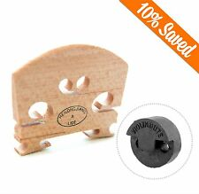 Violin Bridge 4/4 With Round Rubber Violin Mute Tourte-Style