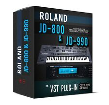Roland JD-800 JD-990 Sample Library for VST AU 32 and 64 bit sounds PLUGIN