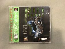 Used Alien Trilogy PC Game DOS Win 95 1997 1996 Complete Good Condition