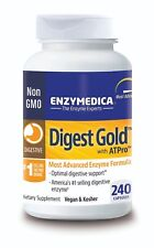 ENZYMEDICA Digest Gold with ATPro Advanced Enzyme Formula 240 Capsules