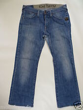 Cult Jeans G-Star CORE CUSTOM Button Fly 32 L30 denim blue used /F32