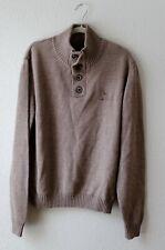 John Deere NWOT Mens Brown Long Sleeve Soft Sweater Size Large