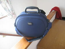 BLUE VANITY CASE / BOWLS BAG, one owner No 6