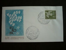 Postal History - Europa 1961 - Germany - Scott# 844 FL - First Day Cover