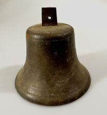 Antique Bronze Ships Bell