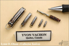 Yvon Vachon (Deceased) Matching Set of 5 Miniature Knives 1 of 1 Made