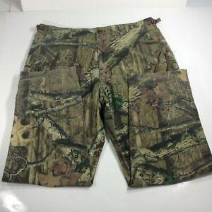Cabela's Men's Size 42 Camo Cargo Hunting Pants Break Up Infinity