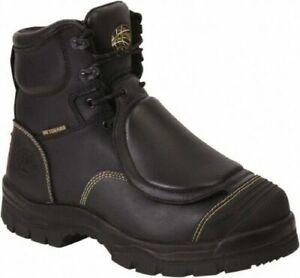 Oliver Mens Metatarsal Guard ST Work Boots Black 55247 Size 11.5 US