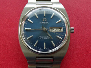 AUTHENTIC 1982  MEN  OMEGA  SEAMASTER  AUTOMATIC   DAY  DATE  CAL 1020  SERVICED
