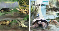 Turtles Schildkröten Reptiles Animals Marine Fauna Mozambique MNH stamp set