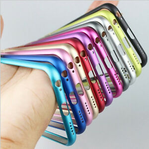 Ultralight Arc angle Metal Frame Bumper Phone Case for Apple iPhone 6 6 Plus