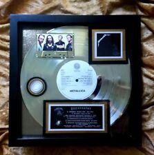 METALLICA Multi-PLATINUM AWARD  Certified 16-Million (Black Album)