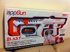 New ! AppBlaster Apptoyz AppGun Interaction Gaming for iPhone 3Gs 4 4G 4s etc