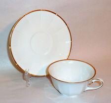 Antique 1900 Porcelain Tea Cup KRAUTHEIM Selb Bavaria White Gold Trim