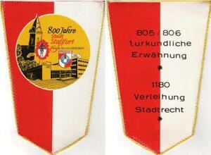 "GDR: 1980, Pennant "" 800 Years City Staßfurt (2 )"", Mint"