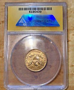 1895 $5 Liberty Half Eagle Gold Coin ANACS AU-58 Rare Coin - Judge for Yourself