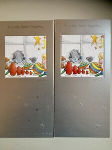 Two Me To You Tatty Teddy Special Daughter Christmas Cards £1.49